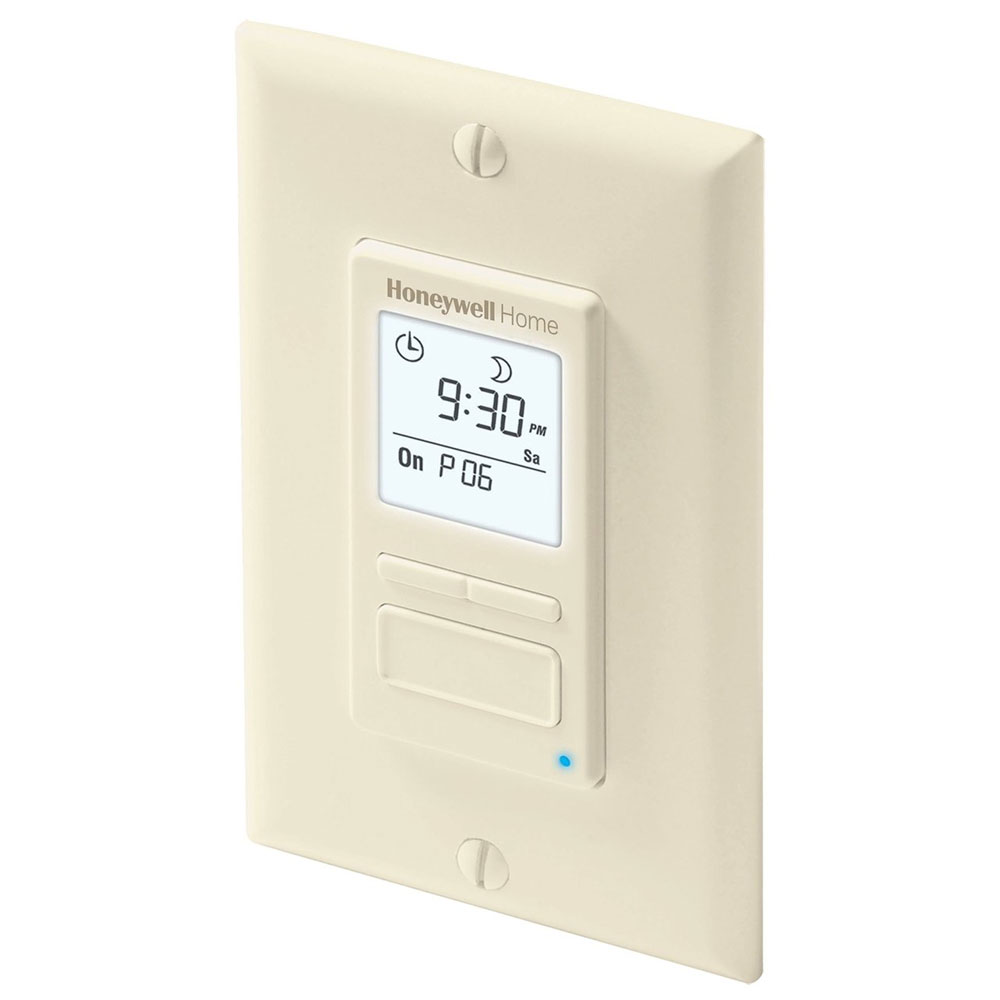 Wiring Diagram For Honeywell Timer : Honeywell programmable light switch timers automatic