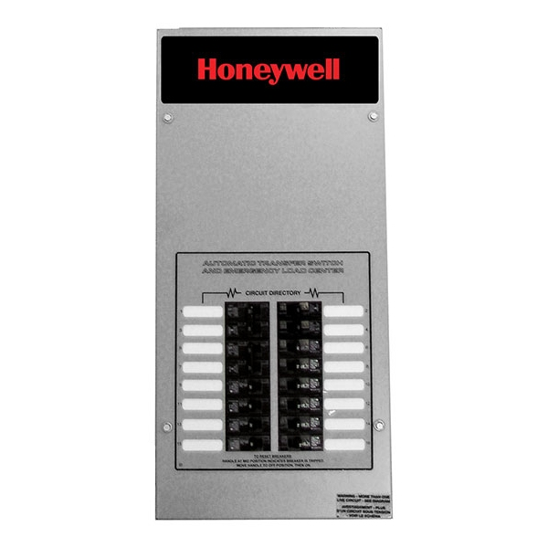 Honeywell RTG16EZA3H ATS - NEMA 3 C16-circuit 100 Amp Load Center UL