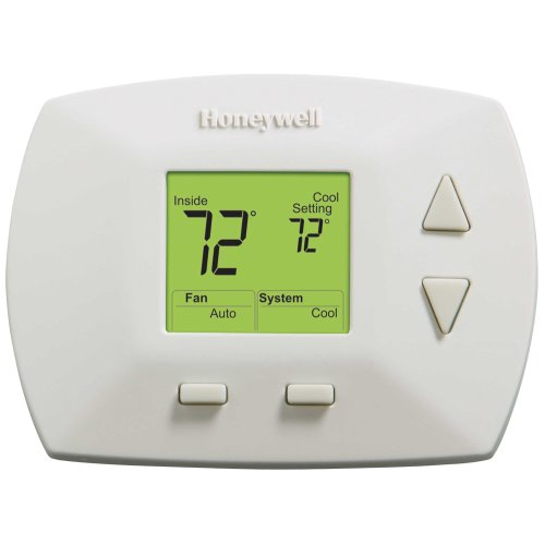 honeywell rth5100b deluxe non programmable thermostat. Black Bedroom Furniture Sets. Home Design Ideas
