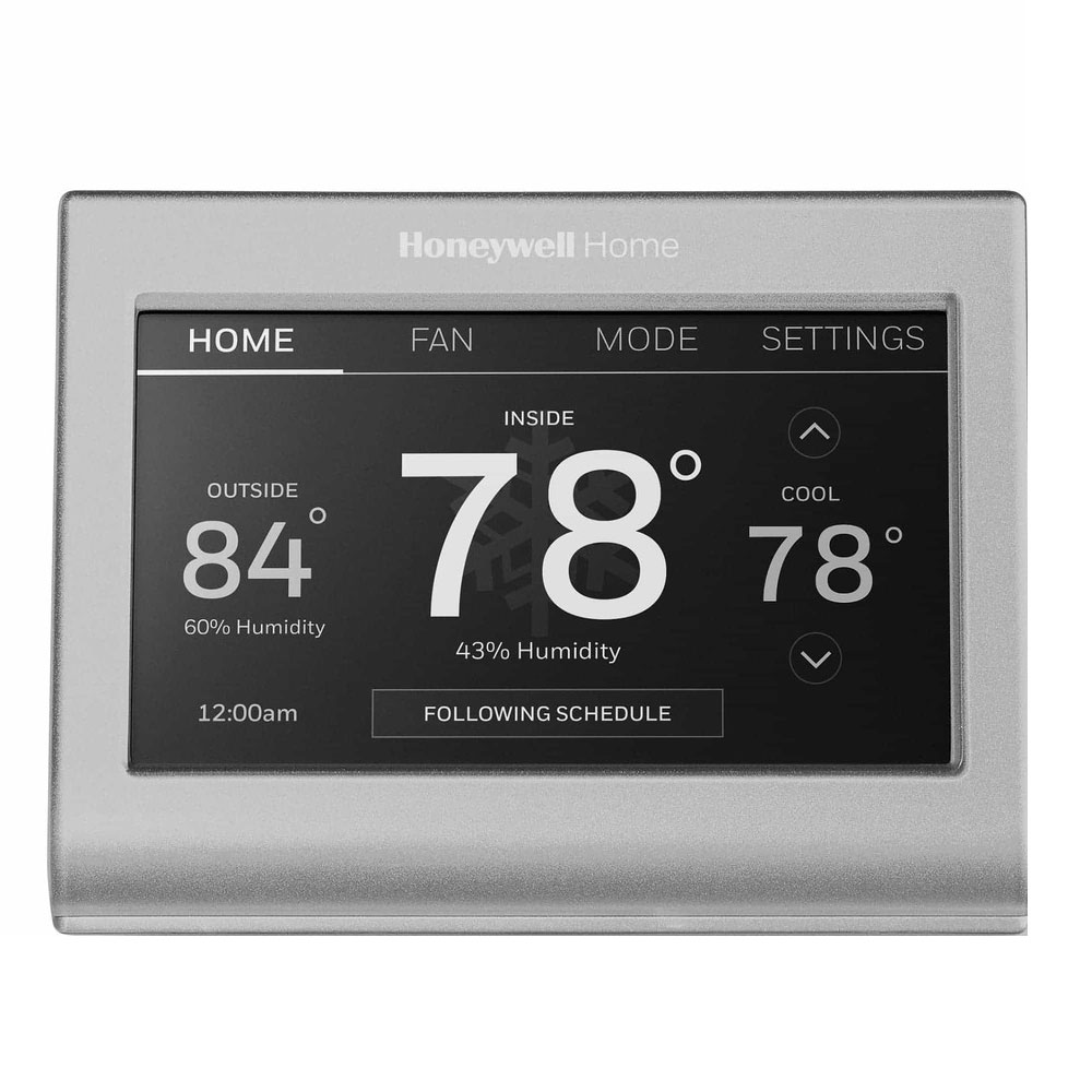 Honeywell Rth9585wf1004 Wi Fi Smart Color 7 Day Programmable Thermostat 5 Wire Wiring Diagram