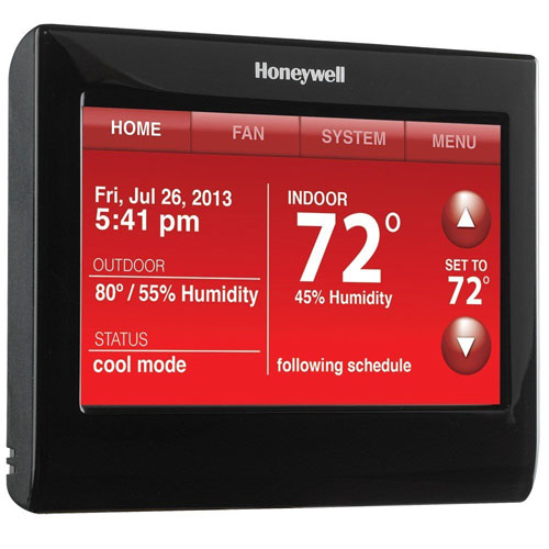 Honeywell RTH9590WF1011 Wi-Fi Smart Thermostat with Voice Control, 7 Day Programmable with Color Display