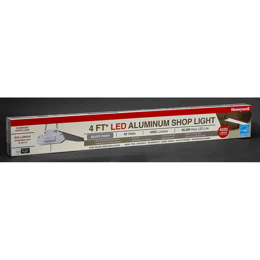Honeywell LED Aluminum Shop Light, 4500 Lumen, SH445501Q113