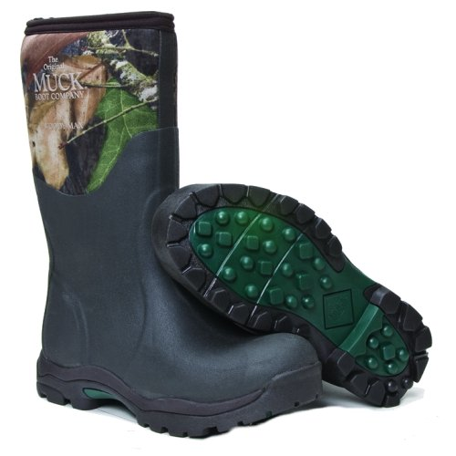 Muck Boot Womens Woody Max Cold-Conditions Hunting Boot, Mossy Oak Break-Up, WDW-MOBU