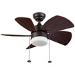 Honeywell Lenox Ceiling Fan, Bronze, 30 Inch - 10267