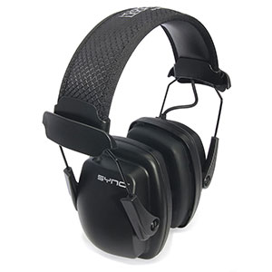 Honeywell Stereo Hearing protector Earmuffs with audio jack (Black) - 1030110