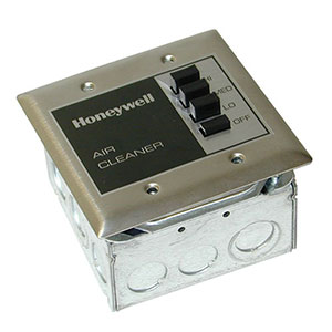 Honeywell 190097D, 3-Speed Wall Remote For F111, F116, F118, F120 Air Cleaners