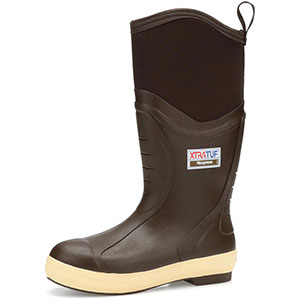 XTRATUF 22613 Elite High 15 In Plain Toe Insulated Boot, Copper / Tan