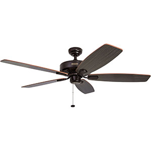 Honeywell Sutton Ceiling Fan, Royal Bronze Finish, 52 Inch - 50188