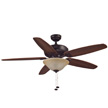 Honeywell Belmar Ceiling Fan, Oil Rubbed Bronze Finish, 52 Inch - 50193