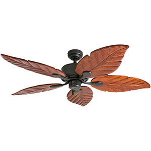 Honeywell Willow View 52 In. Bronze Tropical Ceiling Fan - 50501-03