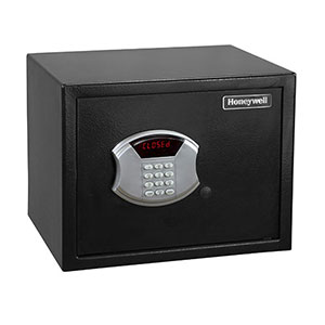 Honeywell 5103 Steel Security Safe-Digital Lock (.83 cu'), All Black