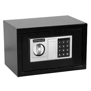 Honeywell 5301DOJ Steel Security Safe with Digital Lock (.31 cu ft.)