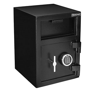 Honeywell 5912 Digital Steel Depository Security Safe, (1.06 cu ft.)