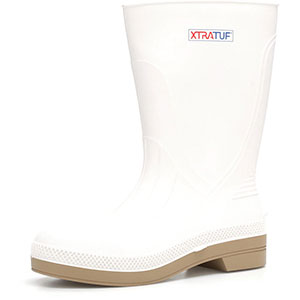 XTRATUF Men's 11 In Shrimp Boot, White - 75136