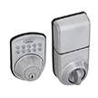 Honeywell Digital Door Lock and Deadbolt in Satin Chrome, 8612309