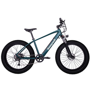 Honeywell El Capitan X Fat Tire Electric Mountain Bike, Green - 98001