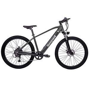 Honeywell El Capitan Electric Mountain Bike, Grey - 98002
