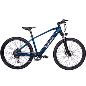 Honeywell El Capitan Electric Mountain Bike, Blue - 98003
