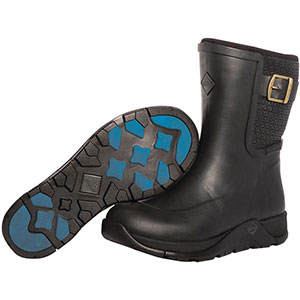 Muck Apres II Slip On Rubber Boot, Black - APR-000