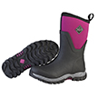 Muck Boots Arctic Sport II Mid Cut Winter Boot, Black/Purple, AS2M-501