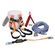 Honeywell Complete Roofer's Fall Protection System with 25-ft. (7.6 m) rope lifeline - BRFK25-Z7/25FT