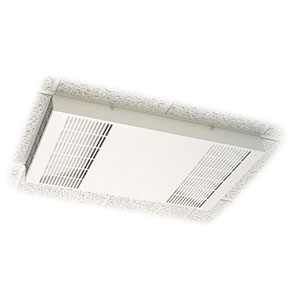 Honeywell F111A1063W-3S Commercial Ceiling Mount Media Air Cleaner with 99.97% HEPA Filter, White