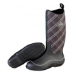 Muck Boots Women's Hale Multi Season Boot, Black/Gray Plaid, HAW-0PLD