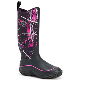 Muck HAW-MSMG Hale Camo Women Boot, Black / Muddy Girl Camo