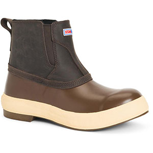 XTRATUF LPM-900 6 In Legacy Chelsea Boot, Chocolate