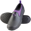 Muck Boots Muckster II Low Cut Waterproof Shoe, Black/Purple, M2LW-500