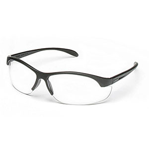 Honeywell HL200 Youth Shooter's Safety Eyewear, Black Frame/Clear Lens - R-01638