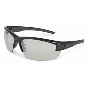 Honeywell Mercury Shooter's Safety Eyewear, Black Frame, I/O Mirror Lens R-02106