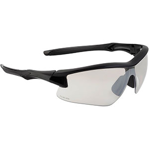 Honeywell Acadia Shooter's Safety Eyewear, Black Frame, SCT-Reflect 50 (I/O) Lens with Scratch-Resistant Hardcoat Lens Coating - R-02216