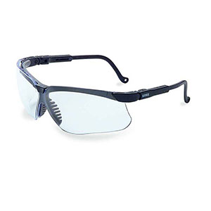 Honeywell Genesis Shooter's Safety Eyewear, Black Frame, Clear Lens - R-02229