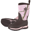 Muck Boots Kid's Rugged II Performance Outdoor Boot, Brown/Pink, RG2-4RAP