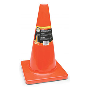 Honeywell 18 in. High Visibility Orange Safety/Traffic Cone - RWS-50011