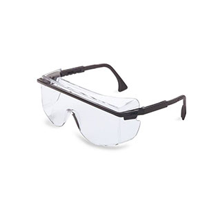 Honeywell Astro OTG 3001 Safety Eyewear, Black Frame, Clear Lens- RWS-51015