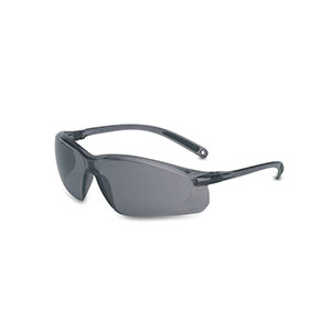 Honeywell A700 Safety Eyewear, Gray Frame/Lens, Scratch-Resistant - RWS-51034