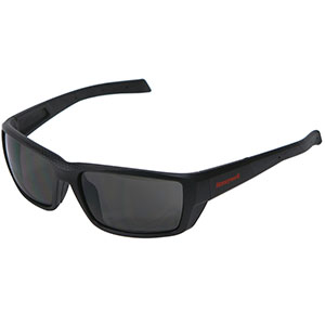 Honeywell HS200 Safety Eyewear, Retro styled, Matte Black, Gray Lens- RWS-51068
