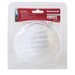 Honeywell Nuisance Particulate Disposable Dust Mask, 5-pack - RWS-54000
