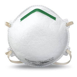 Honeywell Saf-T-Fit Plus N95 Disposable Respirator, 20 per box - RWS-54003
