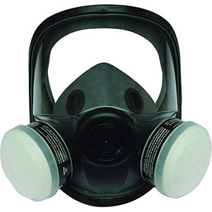 Honeywell OV/R95 Reusable Respirator, Med/Large Elastomer Full Mask - RWS-54037
