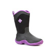 Muck Boots Tack II Mid Cut Equestrian Work Boot, Black/Purple, TK2M-500