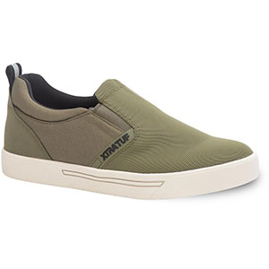 XTRATUF Men's Topwater Slip On Shoes, Olive - XMTS-301
