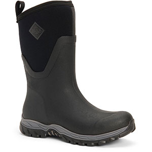 Muck AS2M-000 Arctic Sport II Mid Boot, Black
