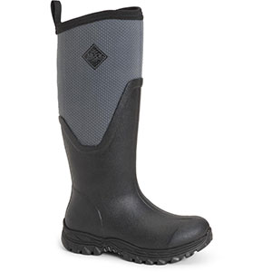 Muck AS2T-101 Arctic Sport II Tall Boot, Black / Gray