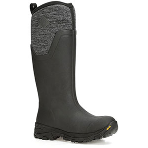 Muck Women's Arctic Ice Tall Boot, Black / Heather Jersey - AS2TV-100