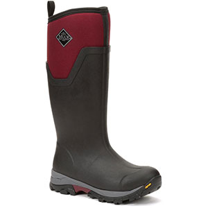 Muck AS2TV-600 Arctic Ice Tall Boot, Black / Red