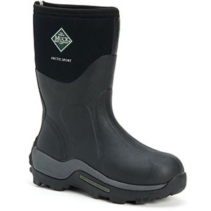 Muck ASM-000A Arctic Sport Mid Boot, Black