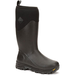 Muck Men's Arctic Ice Tall Boot, Black / Dark Shadow - AVTV-000